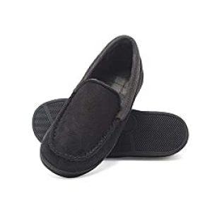 Hanes Kids' Moccasin House Shoe