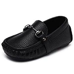 UBELLA Toddler Leather Slip-On Loafer
