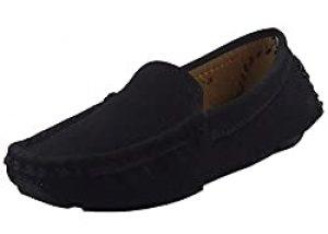 DADAWEN Soft Suede Leather Loafer
