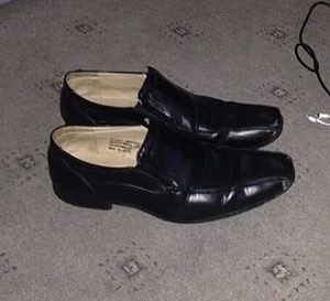 A pair of slip-on shoes from Matalan