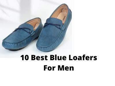 10 Best Blue Loafers For Men