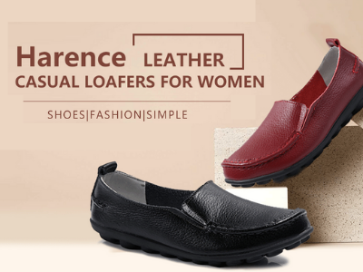 Harence Shoes for Women Casual Slip On Driving Loafers